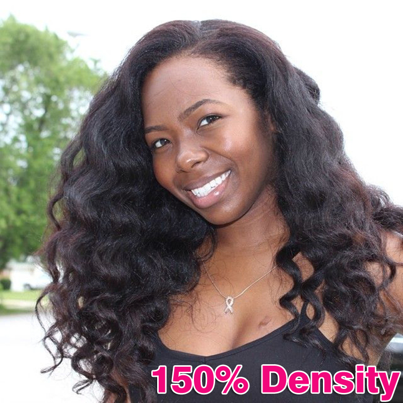 Full Lace Human Hair Wigs Malaysian Virgin Hair Lace Front Human Hair Wigs 150% Density Full Lace Wigs Body Wave Front Lace Wigs