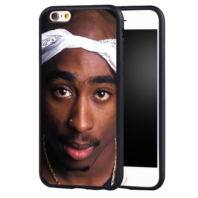 Tupac Shakur Bathtub Original Protect Edge Back Case Cover For IPhone 6 6S  Plus 7 7Plus