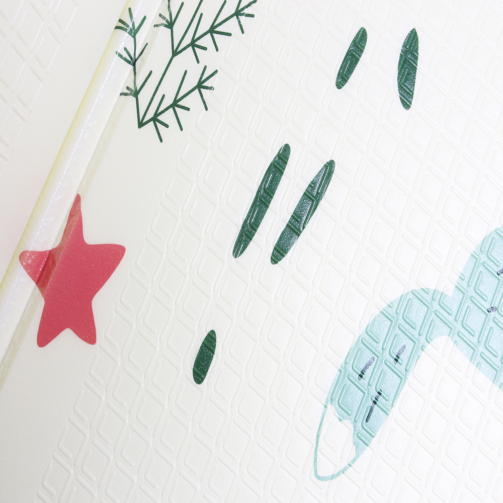 Tapis de jeu pour bébé Xpe Puzzle tapis épaissi pour bébé tapis rampant tapis pliant tapis bébé - 5