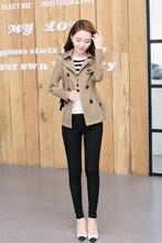 women jacket jacket women Korean version of Slim short cotton women's windbreaker