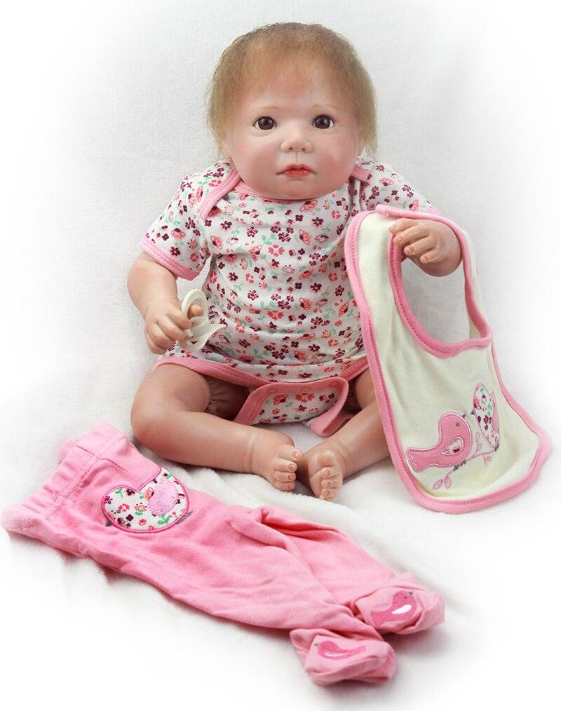 Pursue 20/50 cm 100% Handmade Real Reborn Babies Silicone Vinyl Baby Doll Reborn for Children Girl Boy Doll Toys Birthday Gift