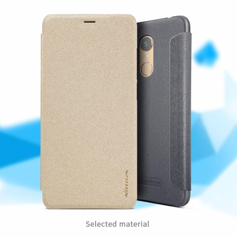 redmi 5 plus case Flip cover NILLKIN 5.99 inch Sparkle Flip cover Hard PC back cover for xiaomi redmi 5 plus case Free shipping