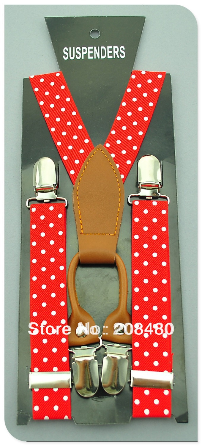 Free Shipping-Y-Genuine Leather 2.5cm Wide
