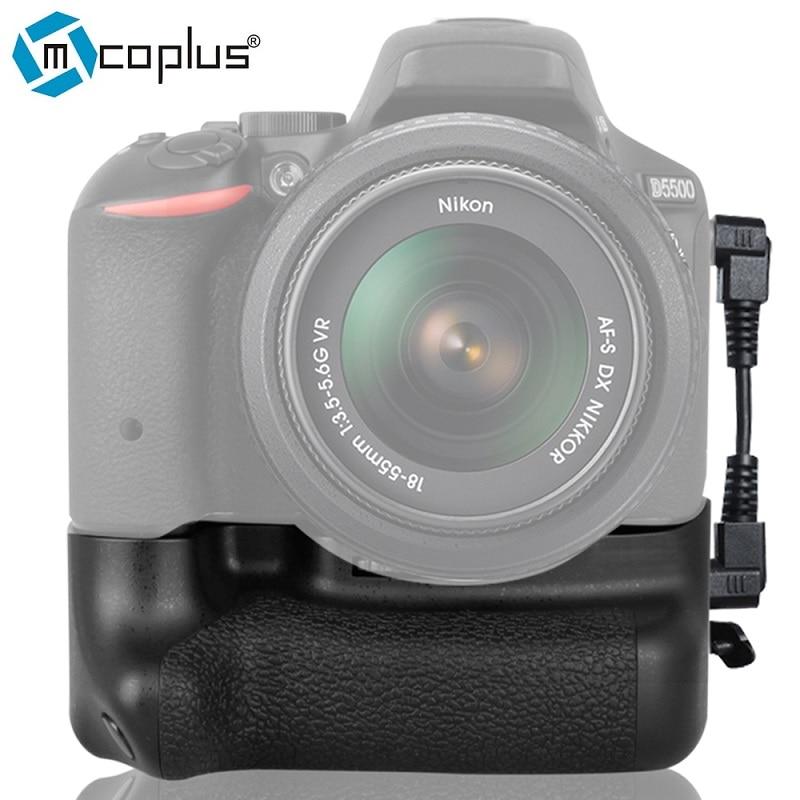 Mcoplus BG-D5500 Vertical Battery Grip Holder for Nikon DSLR D5500 Camera works with EN-EL14a Meike MK-D5500 vertical battery grip for nikon d5500 dslr camera bg 2t