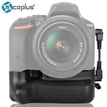 Mcoplus BG-D5500 Vertical Battery Grip Holder for Nikon DSLR D5500 Camera works with EN-EL14a Meike MK-D5500
