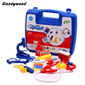Kids Classic Toys Simulated Medicine Box Doctor Tool Set Box Funy Pretend Play Toys Children Educational Toys