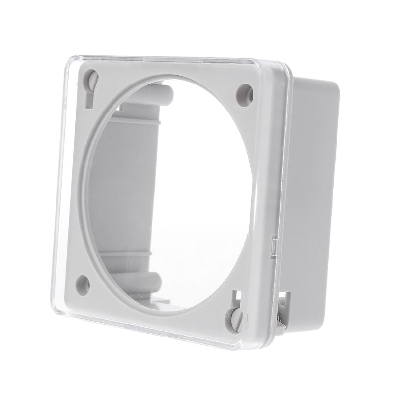 Panel Mounting Plastic Transparent Case Waterproof Cover Enclosure Protection For Time Switch Timer TM618 CN101 CN101A L701
