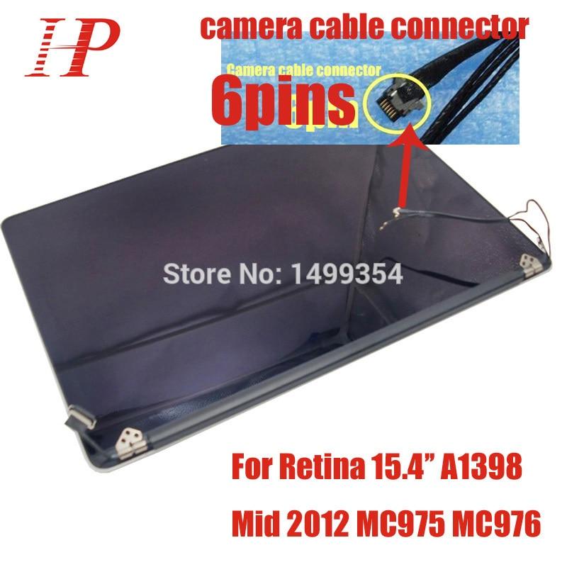 Véritable utilisé 2012 début 2013 année A1398 écran LCD pour Macbook Pro 15''Retina A1398 écran LCD assemblage EMC2512