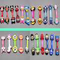 500pcs/lot DIY Cartoon Headphone Earphone Cable Wire Organizer Cord Holder USB Charger Cable Winder Wholesale DHL Free shipping