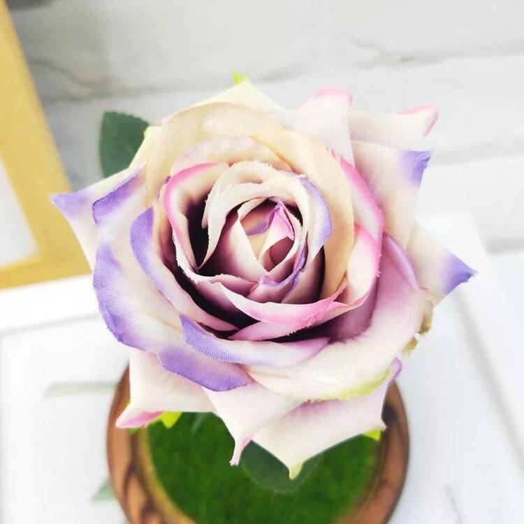 Usb colorido piscando luzes artificiais rosas frescas