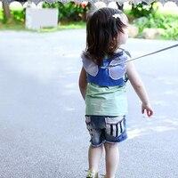 Ремень безопасности для маленьких детей, для прогулок, для малышей, не теряется, трос, Тяговый канат, крылья ангела, буксировочная линия прот...