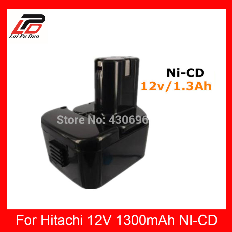 NEW <font><b>12v</b></font> <font><b>1.5Ah</b></font> Ni-cd Replacement power tool battery for HITACHI EB1212S, EB 1214 1214S, 1220BL, 1220HL ,DH 15D2, DH 15DV, DN 12DY image