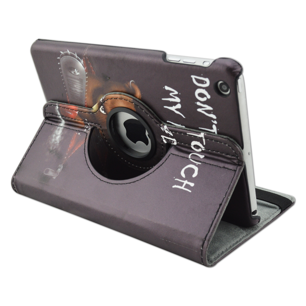 QUWIND Pu-leder PC Material 360 Grad Abdeckung Fall Bär Berühren sie ...