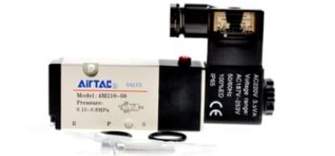 AirTac new original authentic solenoid valve 4M310-08 AC220V airtac 4v210 08 solenoid valve original 4v210 08 airtac genuine ac220v 24v