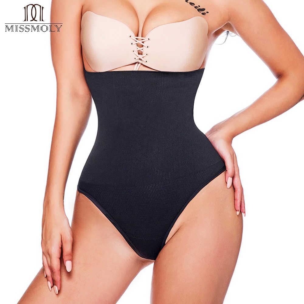 5c50f699513 Detail Feedback Questions about Miss Moly Women Shapewear High Waist Tummy  Control Body Shaper Seamless Underwear Thong Panties Slimming Girdle  Bodysuit ...