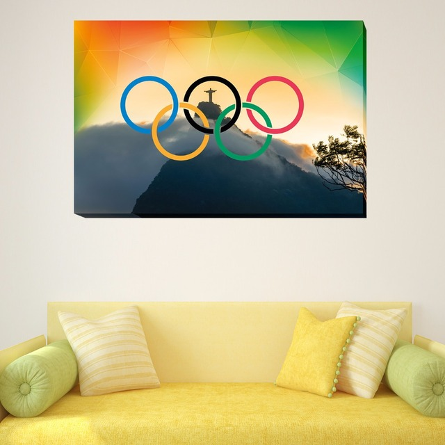 Unframed Brazil Olympics Monte Cristo 1 Piece Wall Painting Art ...