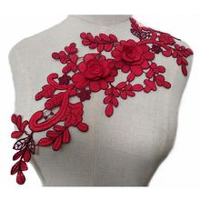 d53adc864dc40 Popular Red Flower Dress Roses Rose Lace-Buy Cheap Red Flower Dress ...