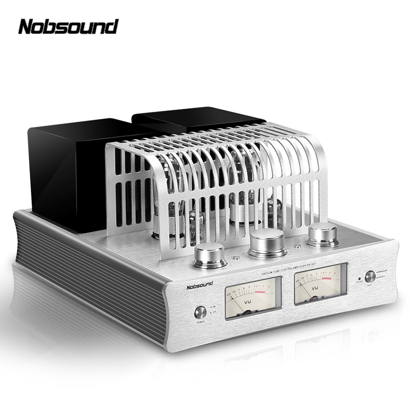 Nobsound DX-925 HiFi Power Amplifier tube electronic tube Bluetooth preampifier 2.0 HiFi Hybrid Single-Ended Class A Power Amp music hall latest nobsound dx 925 vacuum tube amplifier bluetooth 4 0 stereo hifi hybrid single ended class a power amp 220v