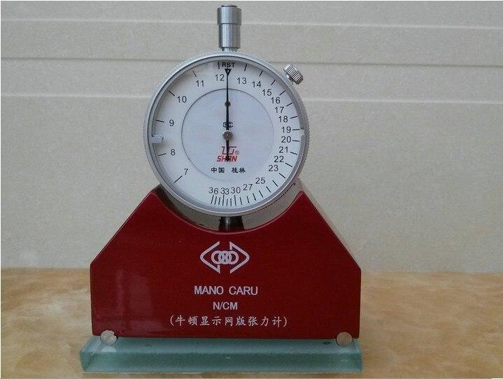 Nouveau compteur de Tension Newton 7-50N pour sérigraphie SMT acier pochoir sérigraphie Newton tonomètre
