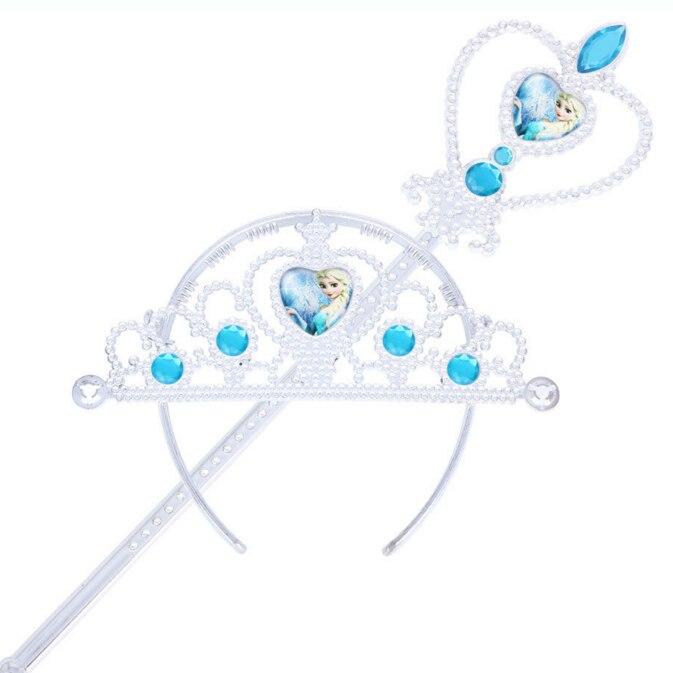 Plastična princesa Aisha set (krona + čarobna palica dva - Modni nakit