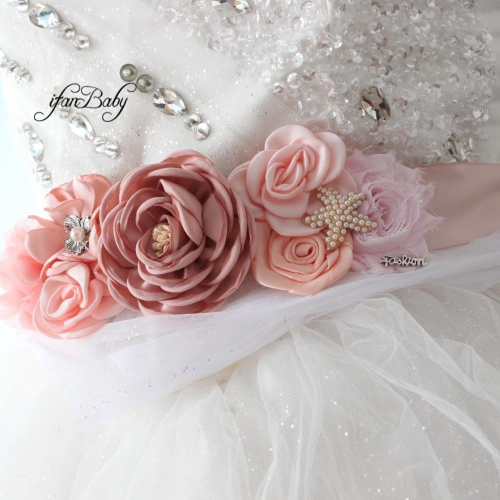 women belt flower sash belt (3)