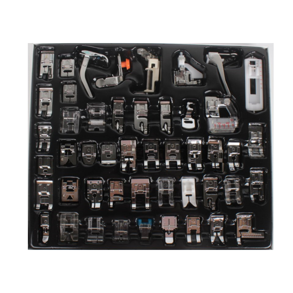 32/48/62pcs Sewing Machine Feet Presser Feet Sewing Kit For Brother Singer Janom Mutifunction Sewing Machine Foot Accessories