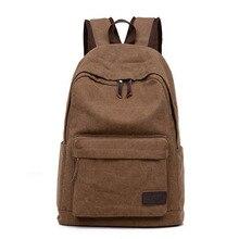 Satchel bolsas rucksack mochila school canvas backpack casual travel vintage shoulder