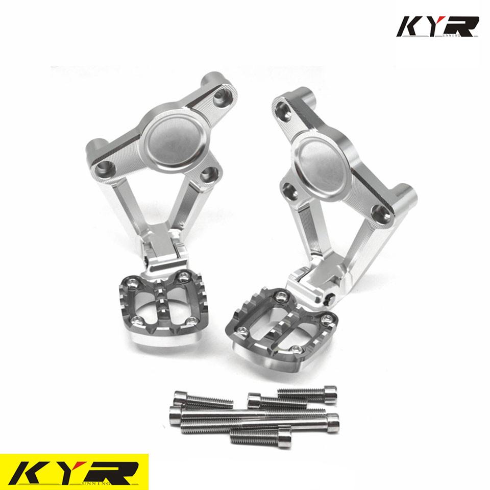 FOR HONDA XADV X ADV X-ADV 750 2017-2018 Motorcycle Foot Rests Accessories Folding Rear Foot Footrest Passenger