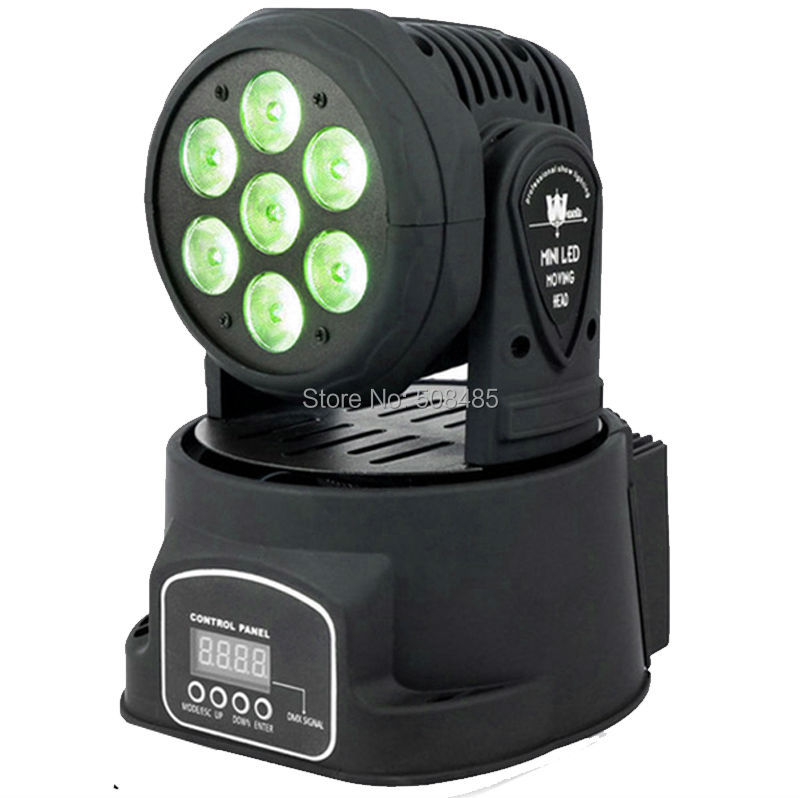Advanced dj moving head lights led wash mini 14 channels rgbw quad with advanced 14 channels