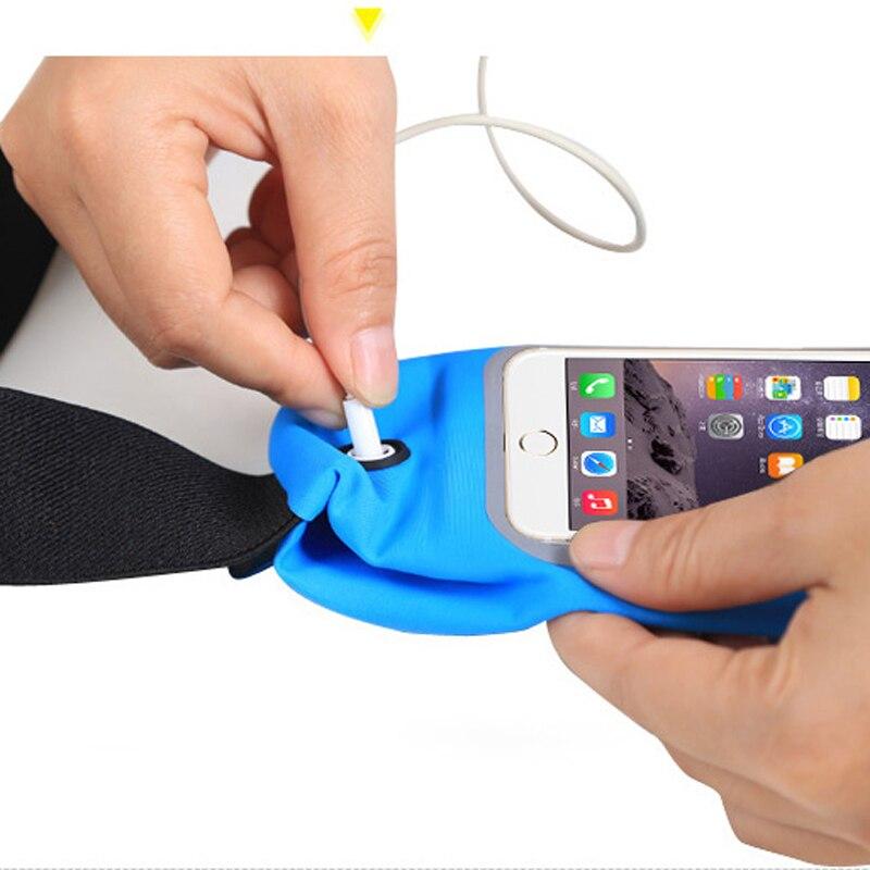 Водонепроницаемый Спортивная поясная сумка для iPhone X 7 6 8 Plus для samsung Galaxy S9 S8 S7 S6 край плюс A7 A8 A9 на открытом воздухе Работает Сумка