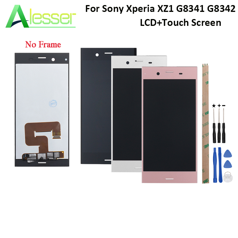 Alesser For Sony Xperia XZ1 G8341 G8342 LCD Display And Touch Screen Screen Digitizer Assembly For Sony Xperia XZ1 LCD +ToolsAlesser For Sony Xperia XZ1 G8341 G8342 LCD Display And Touch Screen Screen Digitizer Assembly For Sony Xperia XZ1 LCD +Tools