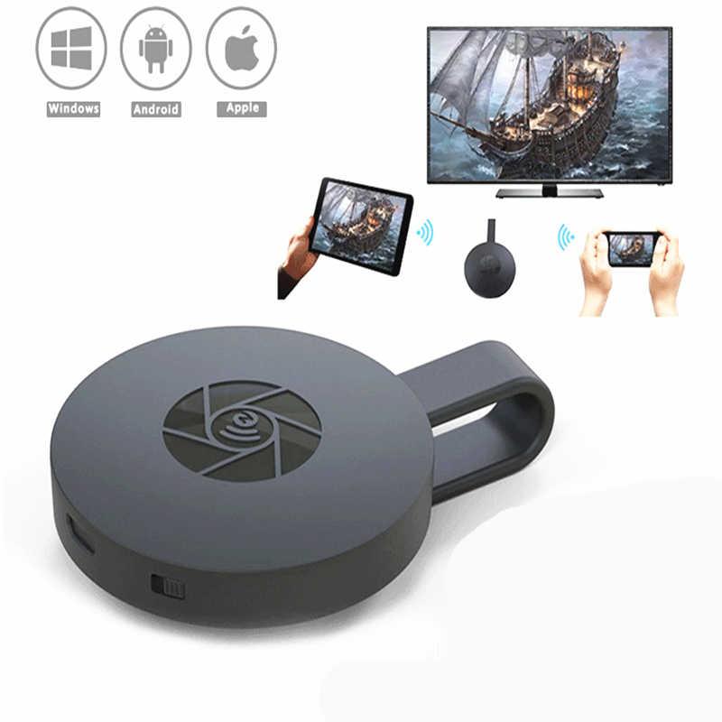 RANKMAN MiraScreen TV Stick Chormecast Miracast DLNA Airplay Wireless WiFiจอแสดงผลHDMI Dongle Receiver 1080PสำหรับAndroid IOS