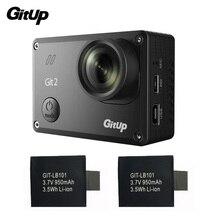 Gitup Git2 Камеры Спорт Камеры Full HD 1080 P 2 К 30fps Wi-Fi действий Камеры Новатэк 96660 Открытый DV + 2 Шт. Дополнительные 950 мАч Батареи
