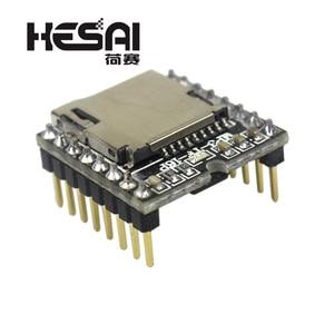Image 3 - 2020!DFPlayer Mini MP3 Player Module MP3 Voice Decode Board Supporting TF Card U Disk IO/Serial Port/AD for arduino Diy Kit