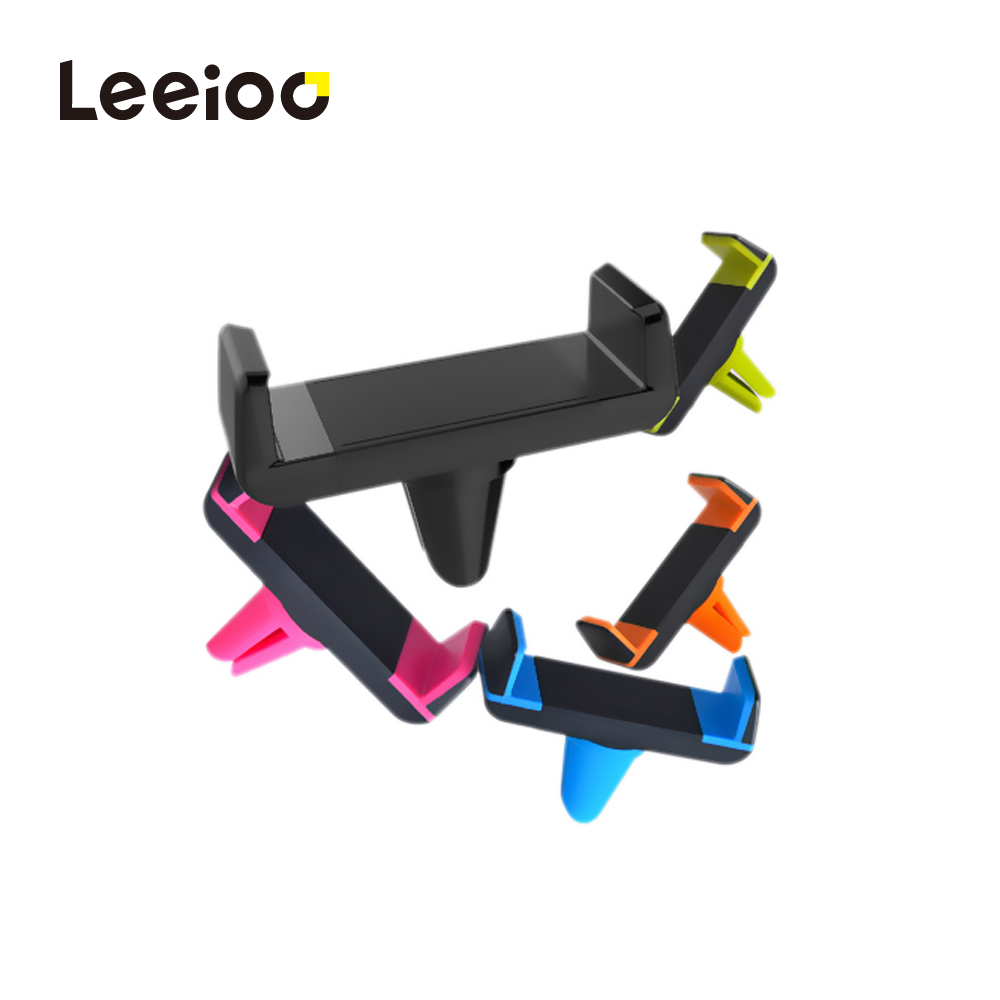 LEEIOO Car Phone Holder for iPhone 8 X 7 6S Air Vent Mount Holder Stand 360 Rotation Mobile Phone Stand for Samsung Xiaomi Stand