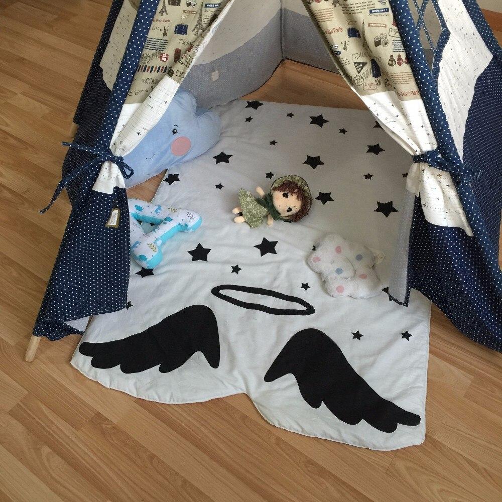 Muslin tree pasgeboren baby deken 100% katoen wit beddengoed cartoon - Beddegoed - Foto 5
