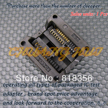 300mil SOP16/SOIC16  IC Test Socket / Programmer Adapter / Burn-in Socket  1.27mm Pitch(OTS-28-1.27-04)