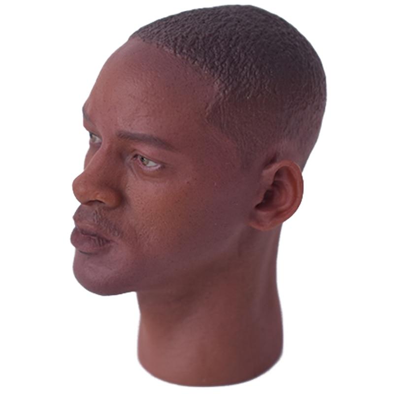 "BELET 1//6 Scale Will Smith Figure head model fit 12/"" Male figure doll body Toy"
