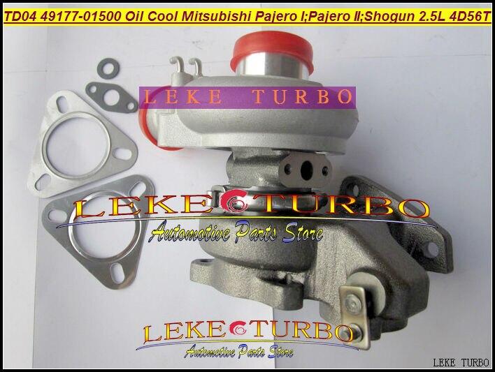 TD04 49177-01501 4917701501 Oil Cooled Turbo Turbocharger For Mitsubishi Pajero I 1986-90 II 90-91;Shogun 84-91 4D56 4D56T 2.5L  цены