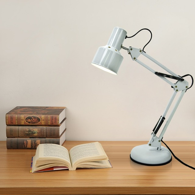 Brief nordic foldable energy saving desk light office study table brief nordic foldable energy saving desk light office study table lighting swing arms reading table lamp aloadofball