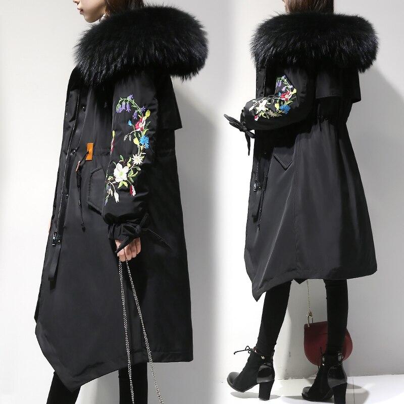 Nouveau De Black Femmes Grande Genou Hiver Taille Manteau Bas Femelle Mm Moyen Hy19 Épaississent Long Coton Gamme armygreen Vers Haut Veste Le Sœur Graisse 0Twdxd