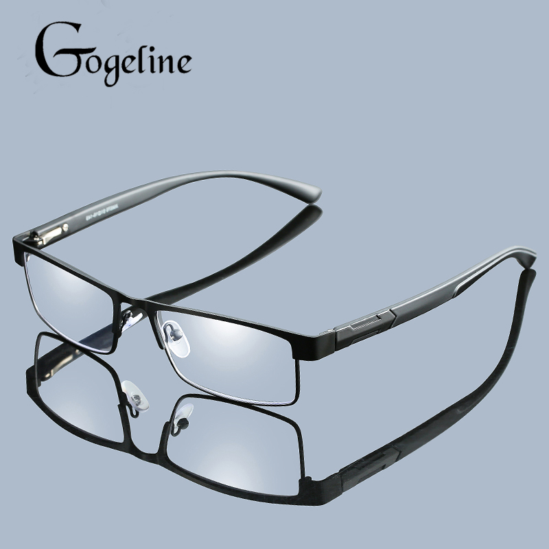 Reading Glasses Men Women Non Spherical Lens Titanium Alloy Presbyopia Eyeglasses With Diopters Hyperopia Prescription Eyewear