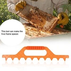 Image 4 - 9 Frame Bijenkorf Spacer Bee Hive Frame Afstand Tool Bijenteelt Apparatuur Plastic Bijenteelt Accessoires