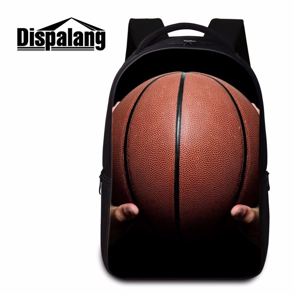 c2b436159931 Dispalang basket ball campus casual bookbag for middle school students  laptop back pack for teens customized