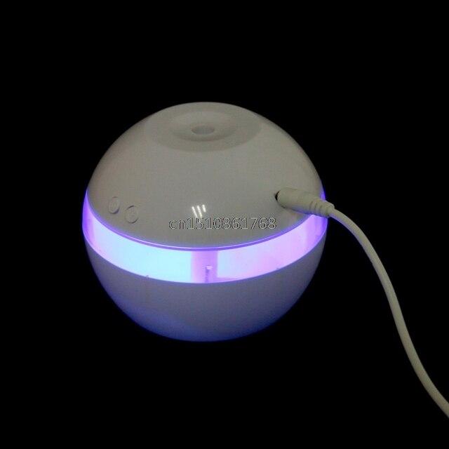 a48c95b47 Óleo essencial de Aromaterapia Difusor de Aroma Ultra-sônica Umidificador  de Ar LED Mini Novo