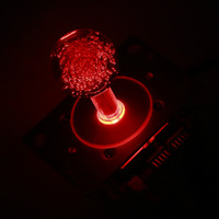 Easyget New Arcade DIY Kits Parts 5V LED Illuminated 2 4 8 Way Joystick For MAME