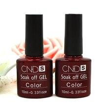 2016 Fashion   1PC Nail Gel Polish UV&LED Shining Colorful 132 Colors10ML Long lasting soak off Varnish cheap Manicure