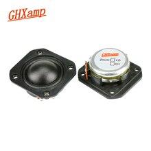 GHXAMP 1.25 inch Tweeter Speaker 35mm Square Treble 6 ohm 50W Neodymium Dome Silk Film For 2 Way Speaker DIY Car Audio 2PCS