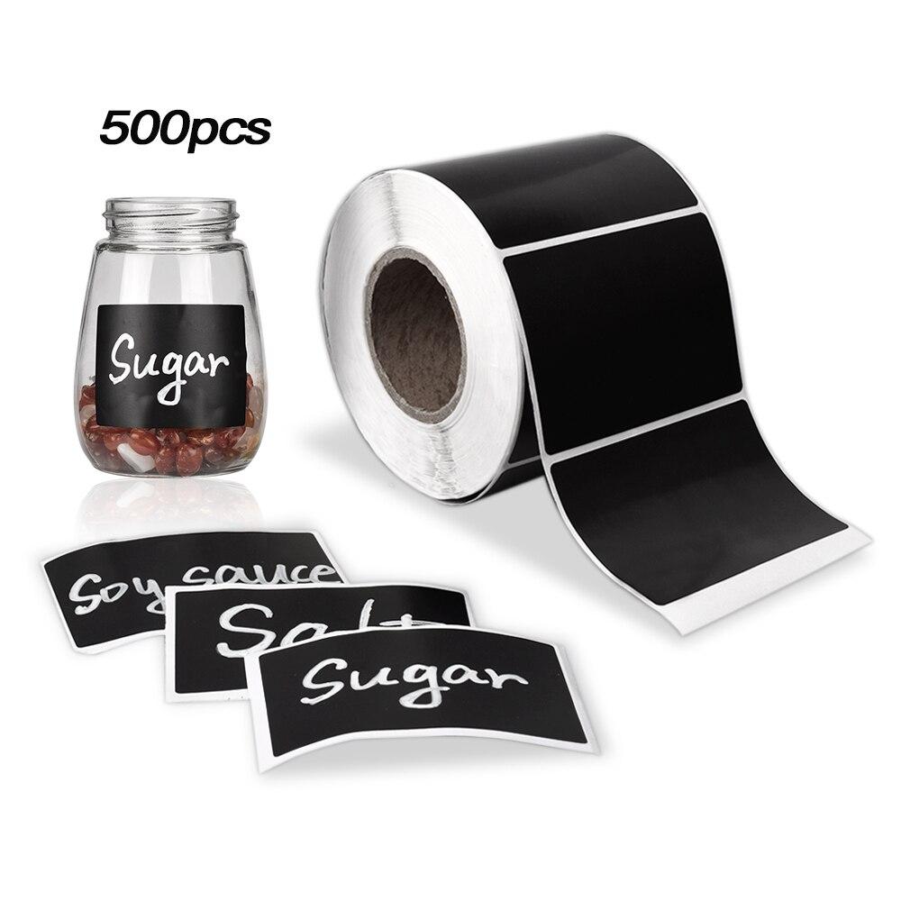 80 Black SPICE JAR LABELS adhesive vinyl Stickers HERB /& SPICE Jar Storage decal