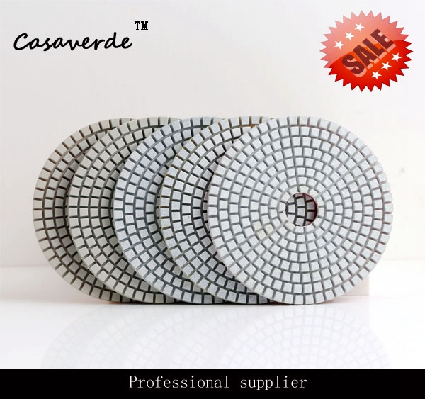 Almofadas de Polimento de Pedra para Polimento Frete Grátis Qualidade Premium 4 Polegada Projetado Molhado D100mm
